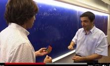 Enric Ventura explica el cub de Rubik a TV3