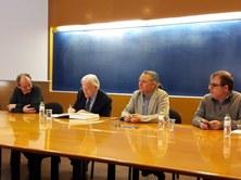 José Rodellar pren possessió com a nou director del Departament de Matemàtiques