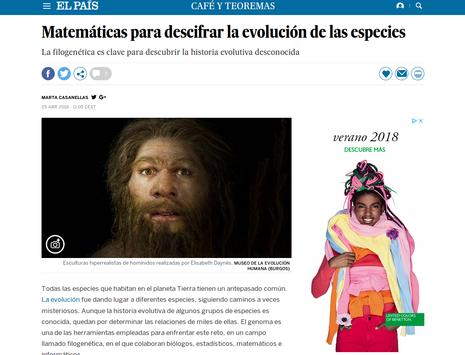 """Marta Casanellas a """"El País"""""""