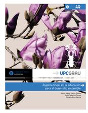 Sant Jordi UPC. Premi al llibre més descarregat: Álgebra lineal en la educación para el desarrollo sostenible