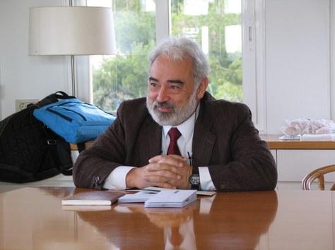 Sebastià Xambó professor emèrit de la UPC